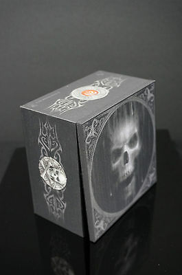Anne Stokes Wooden Box Keepsake trinket Gothic Goth Jeweler Skull watcher