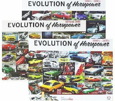 Holden Poster ( Set of Three ) - Evolution of Horsepower ( p/n - EOH )