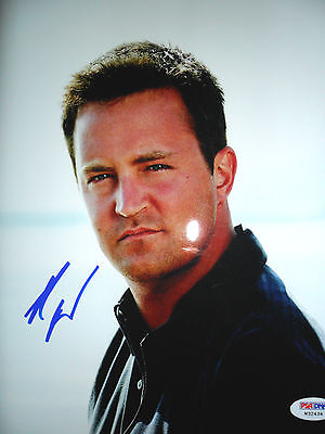 MATTHEW PERRY FRIENDS 8 x 10 inch SIGNED PHOTO PSADNA COA