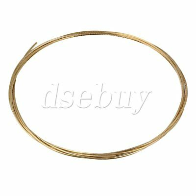 Gold 8Ft Guitar Fret Wire For Electric Guitar 2.4Mm Brass
