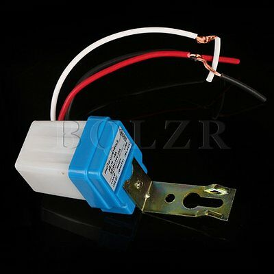New Auto On Off Light Switch Photo Control Sensor for DC/ AC 24V 10A solar lamps