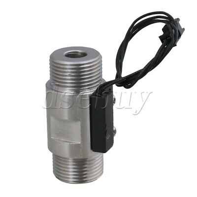 Chrome Magnetic SUS 304 Stainless Steel Water Flow Switch Sensor