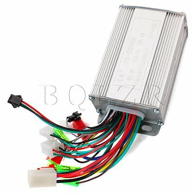 Electric Bike Brushless Motor Controller 36V 350W for Electric Scooters