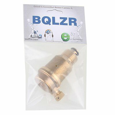 """1/2"""" Brass Automatic Air Vent Valve High Temperature Resistance 16MPa"""