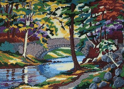 Punch Needle Embroidery Keswick Cumbria Large A3 kit by Webster Craft