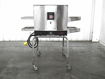 """Gemini Electric Double Rack Conveyor Oven Product size: 22""""W x 7""""T (A8700)"""