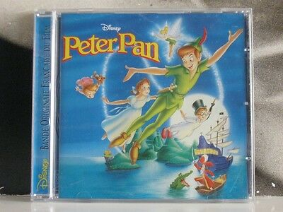 Peter Pan - French Version Original Soundtrack Cd Like New Versione Francese