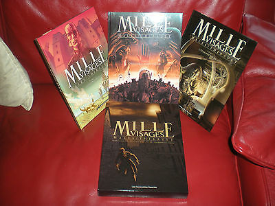 Mille Visages - Males / Thirault - Lot 3 Premiers Tomes Sous Emboitage Cartonne