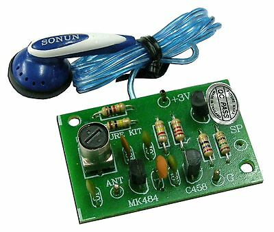 Simple AM Radio for electronic student [ Unassembled kit ]