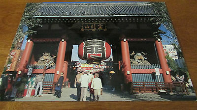 Beautiful Kaminarimon , Asakusa  Postcard 4 X 6