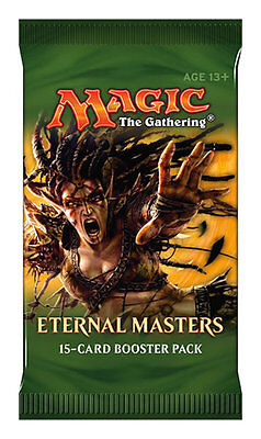 1x Eternal Masters - Magic the Gathering MTG Booster Pack Sealed