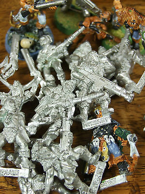 Classic Metal Necromunda Ratskin Gangers Sold Individually Unpainted (817)