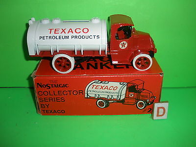 1985 Texaco Oil 1926 Mack Tanker Truck #2 In Series Ertl New Mib D