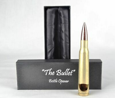 BULLET BOTTLE OPENER .50 Caliber Beer Gun Firearm Ammunition Ammo Novelty Bar