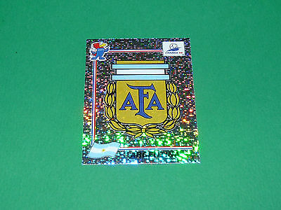 N°499 Argentina Badge Ecusson Panini Football France 98 1998 Coupe Monde Wm