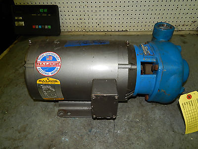 G&L Goulds Pump Model 3656 Centrifugal 3AB15037 Baldor 5hp Motor 3450rpm 3phase