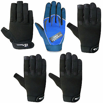 Mechanics Gloves Work Safety Tradesman Worker Gloves MULTI  STYLES