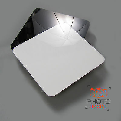 Black/White Acrylic Photograpy Display Table - Jewellery Riser Studio Shooting