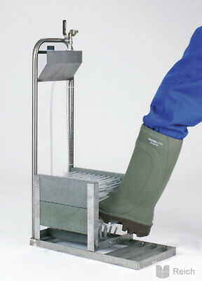 Stainless steel Boots washer for Stand Water connection Disinfection connection