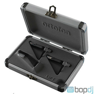 2x Ortofon Concorde Pro S Twin Pack Cartridge & Stylus with Flight Case