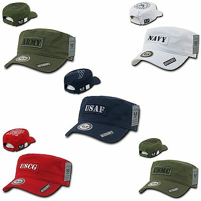 1 Dozen BDU Vintage Reversible Patrol Fatigue Cadet Military Caps Cap Hat Hats