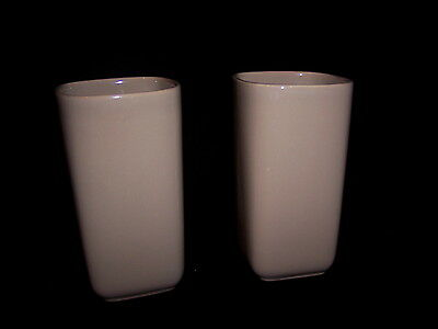 """Franciscan Pottery """"Tiempo"""" (2) Tumbler 5"""" in Height 2 7/8"""" Diameter"""