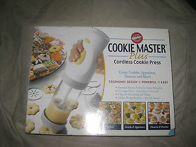 Wilton Cookie Master Plus Cordless Cookie Press New Inbox