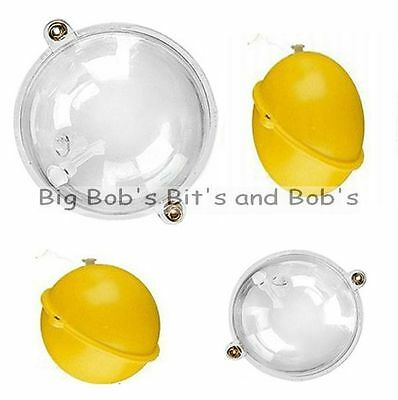 NEW 10 x BUBBLE FLOATS Round Surface Controller Float Sea Carp Mixed Sizes