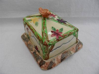 Vintage Wadenheath butter dish FREE UK P&P