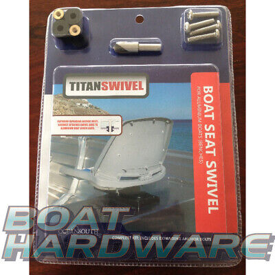 Titan Swivel Kit for Boat Seat Bench Aluminium Dinghy Tinnie DIY EASY INSTALL