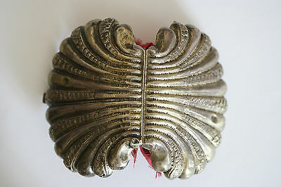 Antique Ottoman Silver Beautiful Purse in form of Shell signed with Tugra