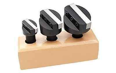 """3pc 1/2"""" SHANK 3/4"""", 1-1/8"""",  1-1/2"""" FLY CUTTER SET WITH HSS SQUARE TOOL BITS"""