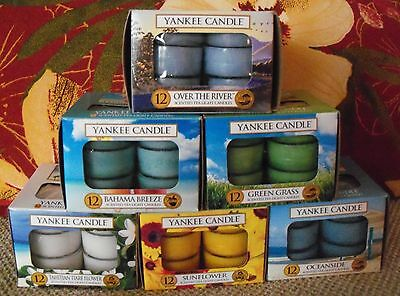 Yankee Candle Tealights - Box of 12 - Choose Your Favorite Fragrance