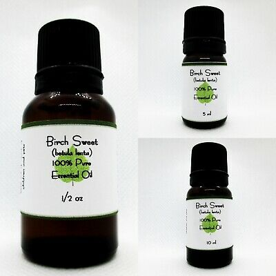 Birch Sweet Pure Essential Oil Buy 3 get 1 free add all 4 to cart