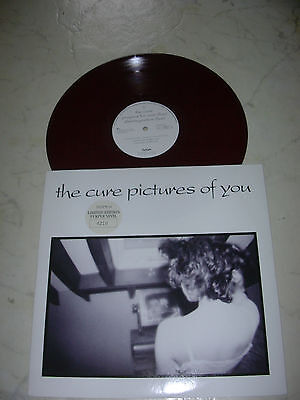 THE CURE Pictures Of You *RARE UK LIMITED EDITION PURPLE VINYL NUMBERED*NM*