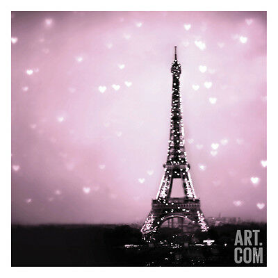 Hearts in Radiant Paris Art Print by Taylor Greene