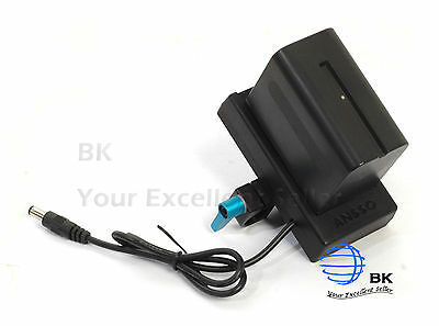 Battery Mount Plate with Clamp for SONY NP-F970 F970 & BMPCC Blackmagic Pocket