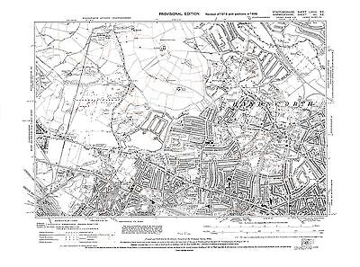 Old Map of  Handsworth, Warwickshire in 1938- Repro 7 SE