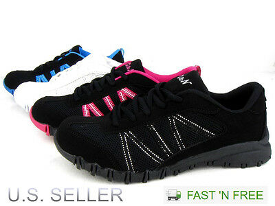 D&N Women's Casual Sneakers Athletic Tennis Shoes Walking Running Lace Up