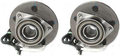 New Pair Set of 2 Front Wheel Hub Bearing Assemblies for a 00-04 Ford F150 4WD
