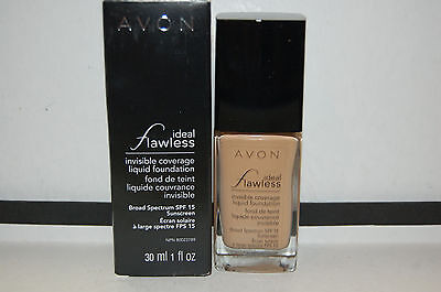 Avon Ideal Flawless Invisible Coverage Foundation SPF 15 YOU PICK YOUR COLOR