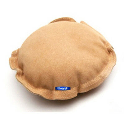 """Round Leather Sandbag 7"""" Jewelry Dapping Stamping Chasing Forming Anvil Bench"""