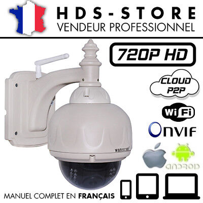 Wanscam Hw0038 Camera Dome Hd 720P Onvif Mobile Ip Led Infrarouge Wifi P2P