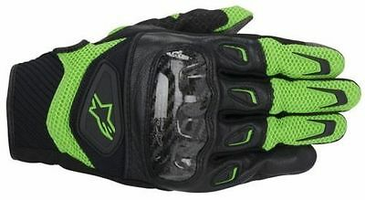 Alpinestars Smx-2 Air Carbon Leather Mesh Short Motorcycle Gloves New Model