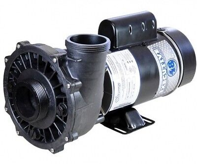 """4 HP 230V 1-Speed Waterway Spa Pump Side Discharge 2""""x2"""" 48 Frame Executive"""