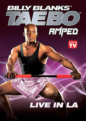 Billy Blanks - Tae Bo Amped - Live in L.A., New DVD, Billy Blanks, Dylan Durango