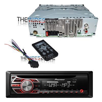 Pioneer DEH-150MP CD MP3 WMA AUX 200W Amp MOSFET Car Stereo Receiver with Remote