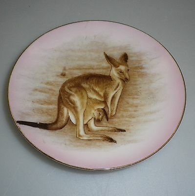 Brownie Downing 1950's pin dish of a Kangaroo with Joey in pouch.