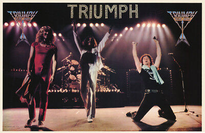 Poster : Music : Triumph - In Concert  - Free Shipping !  #15-200    Rc7 E