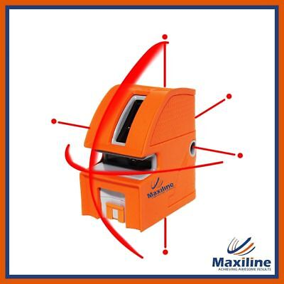 New Maxiline 1V1H Self Leveling Cross Line Laser Level with 5 Dots and Bracket
